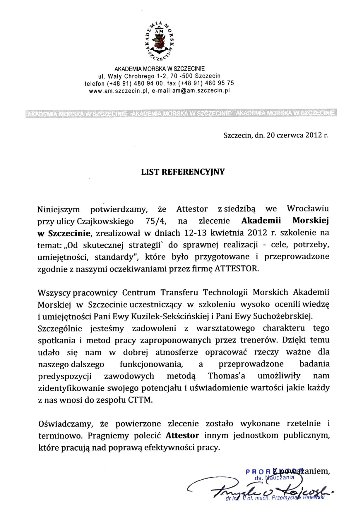 Referencje_Akademia_Morska