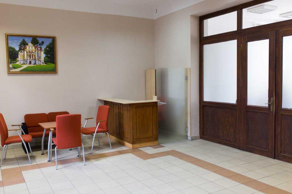 Attestor | Centrum SESU | wnetrze | korytarz